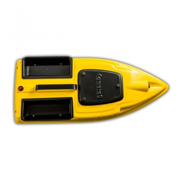 Кораблик для прикормки Grifon Camarad с эхолотом Lucky и GPS-автопилотом