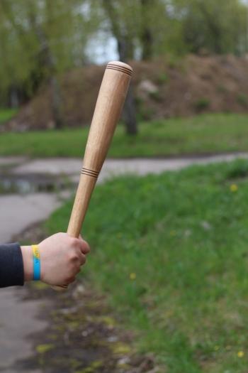 Деревянная бита Водительская 50 см