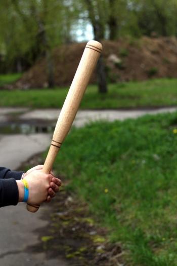 Бита бейсбольная для самообороны 60 см