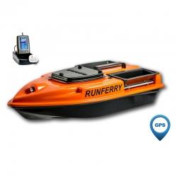 Кораблик для прикормки Grifon Camarad с GPS-автопилотом и эхолотом Toslon TF500