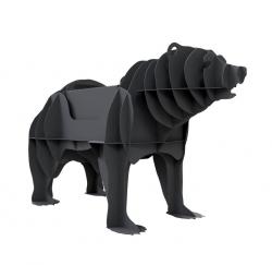 Мангал розбірний Ведмідь 3D. Мангали у вигляді тварин