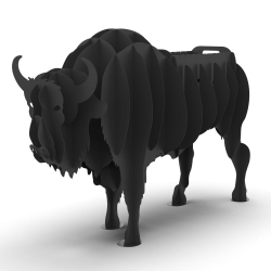 Мангал розбірний Зубр 3D. Мангали у вигляді тварин