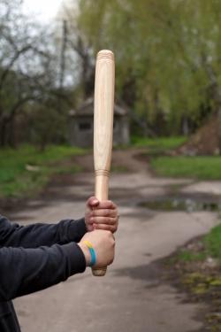 Бита деревянная 70 см