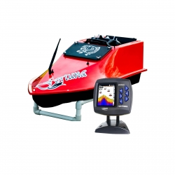 Кораблик для прикормки Grifon Fortune с эхолотом Lucky 918 и GPS-автопилотом
