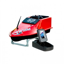 Кораблик для прикормки Grifon Fortune с эхолотом Toslon TF500 и GPS-автопилотом