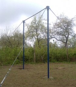 Турник гимнастический, регулируемый по высоте